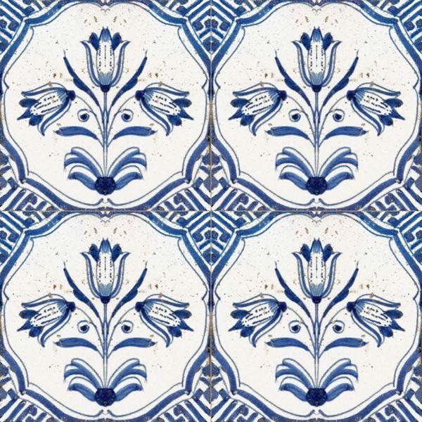 Delft Tile BLUE  WHITEmy love!! Pinterest Carrelage