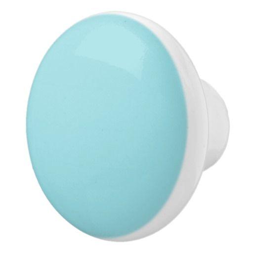 Ceramic Powder Blue Door Knobs by Janz Ceramic Knob | Shades of ...