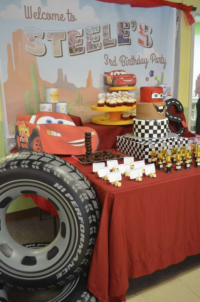 Lightning Mcqueen Birthday Party Ideas Lightning mcqueen Birthday