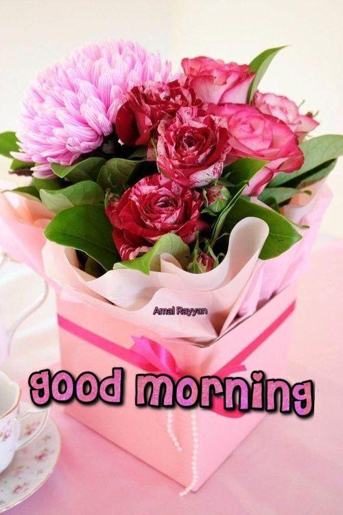 Good Morning Flower Arrangements Birthday Flowers Flower Gift