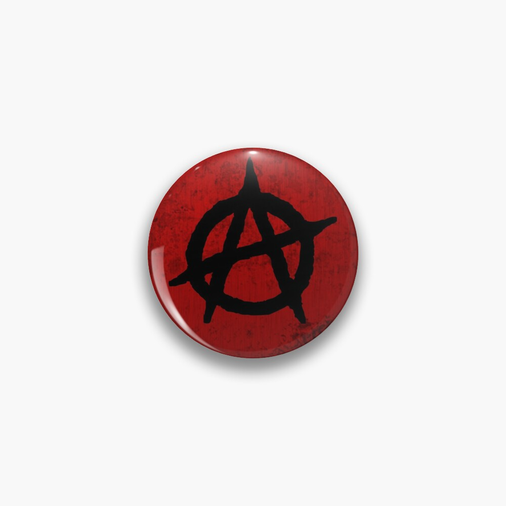 Anarchy Symbol On Red Grungy Background Dirt Effect Grunge Effect Pin By Disordershop Redbubble Grunge Grungy Anarchy Symbol