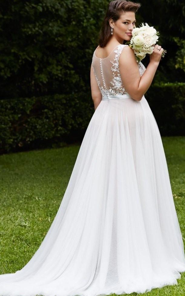 Fabulous Free Shipping WD New arrival fat size wedding dress big size wedding dresses