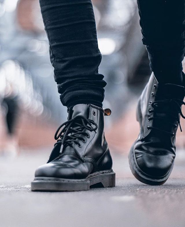95903120cc0f Iconic: the 1460 black mono boot. Shared by @photographybymiles  #drmartenstyle