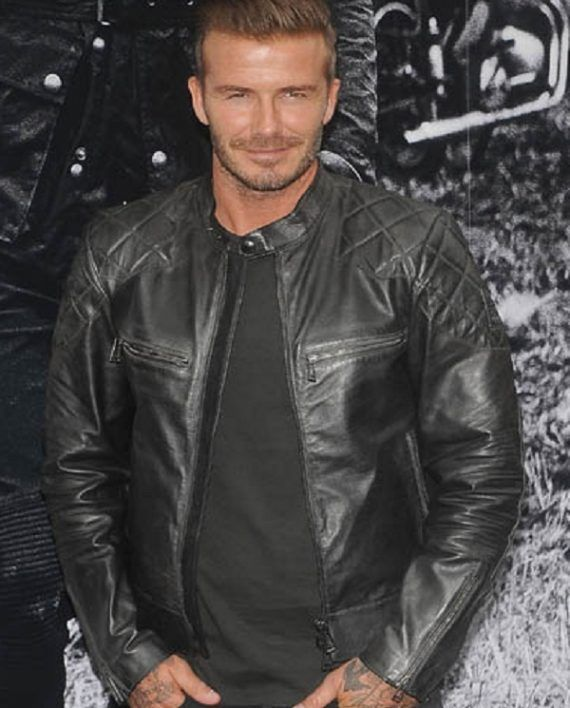 e024bf445 David Beckham Leather Jacket | David Beckham Leather Jacket in 2019 ...