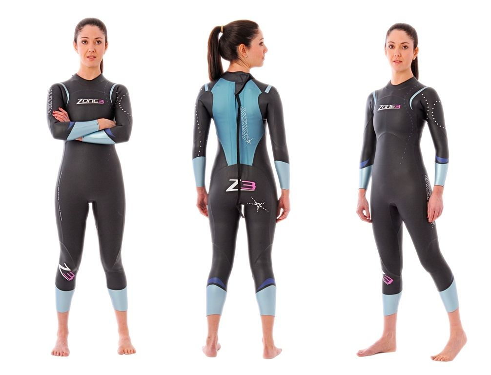 Zone 3 Women s Vision Wetsuit - EX RENTAL One Hire XS Only  afd284997