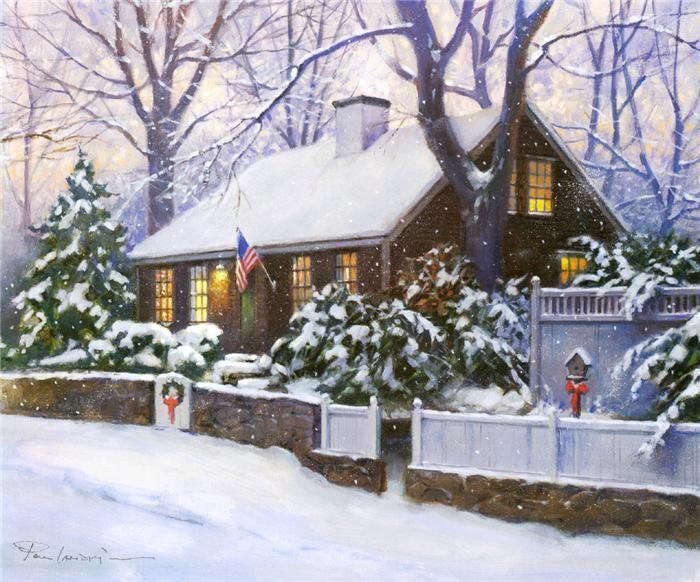 Paul Landry, Cape Cod Christmas  My favorite Christmas card to send.