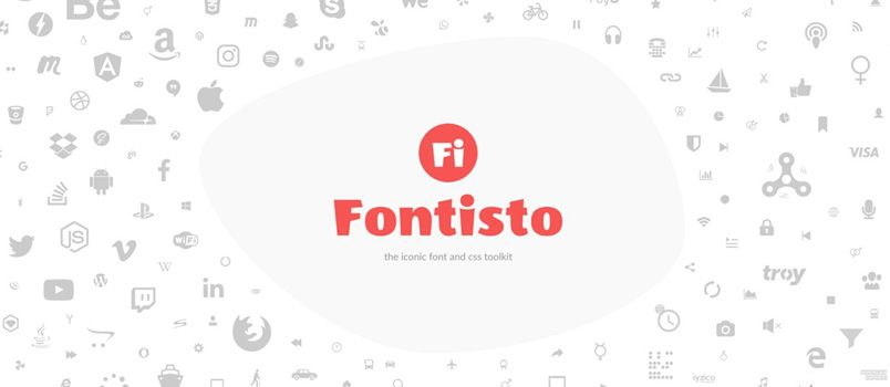 Fontisto – Iconic font and CSS toolkit