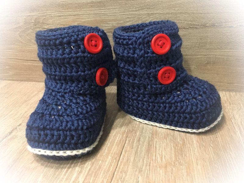 Stiefel Booties Baby Booties In Jeder Farbe Möglich Ein