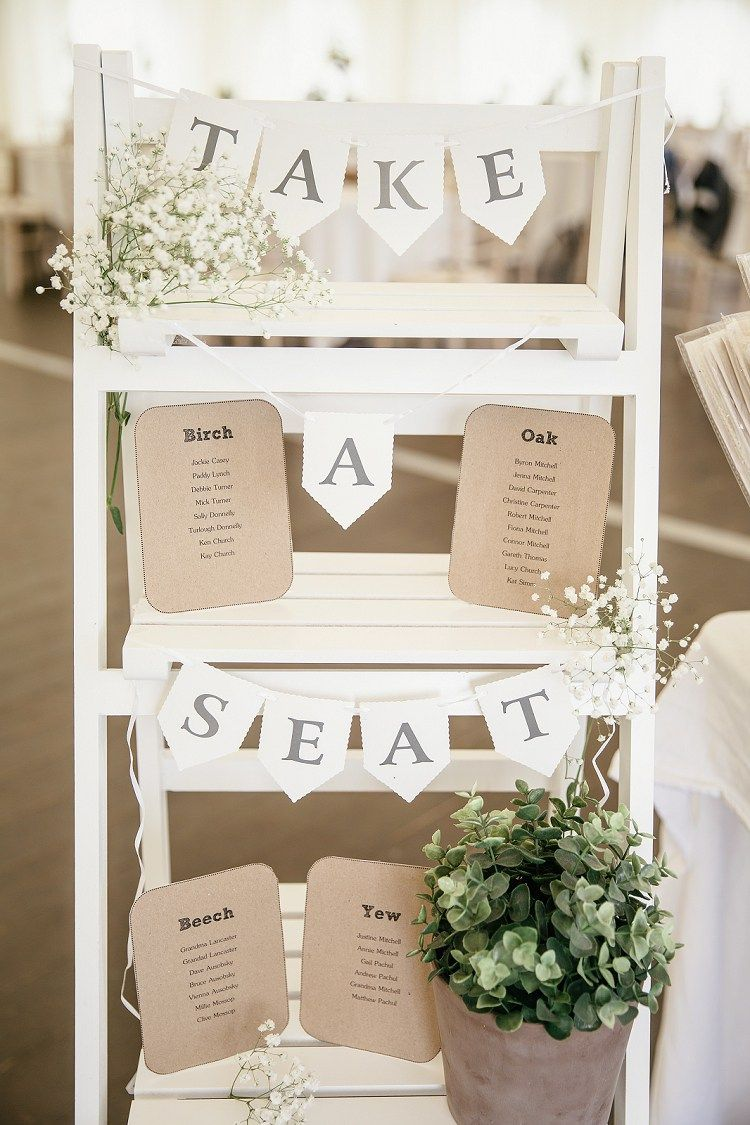 Wedding Table Seating Plan Decoration Ideas With Ladders