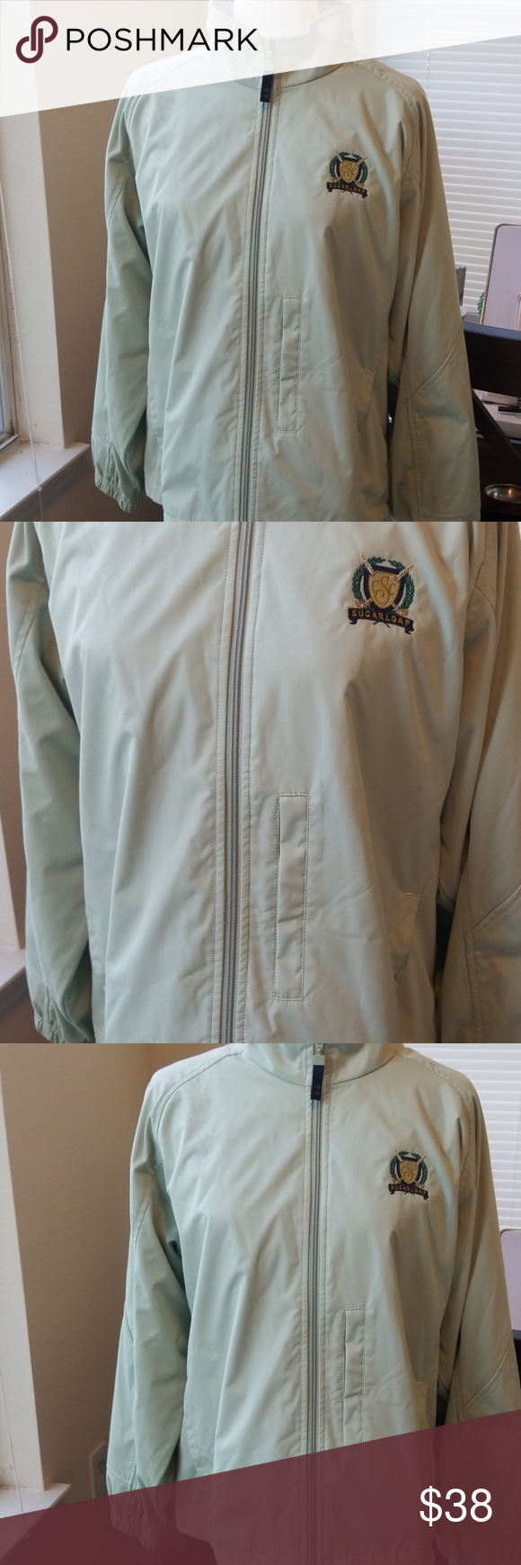 Nwot Women S Greg Norman Full Zip Jacket Zip Jackets Jackets Beautiful Jacket