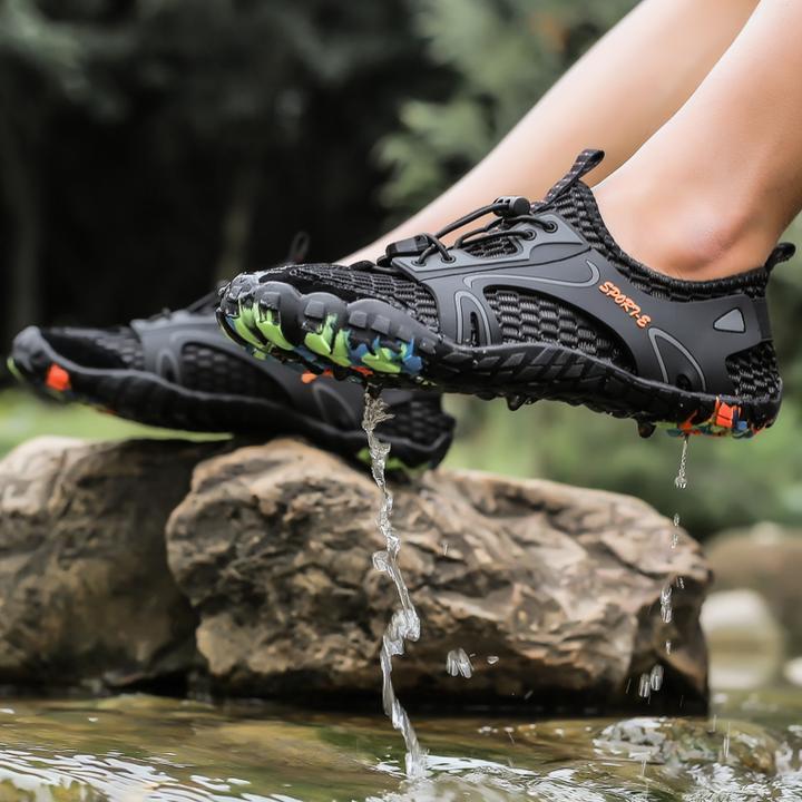 Swim shoes, Hiking shoes