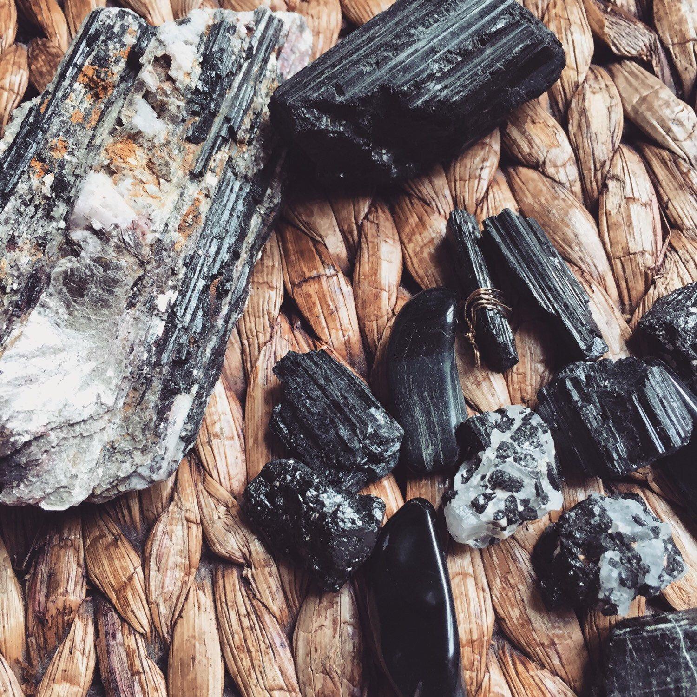 Black tourmaline 💜