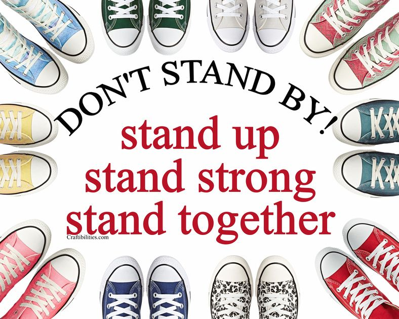 Anti Bullying Poster October Campaign Ideas