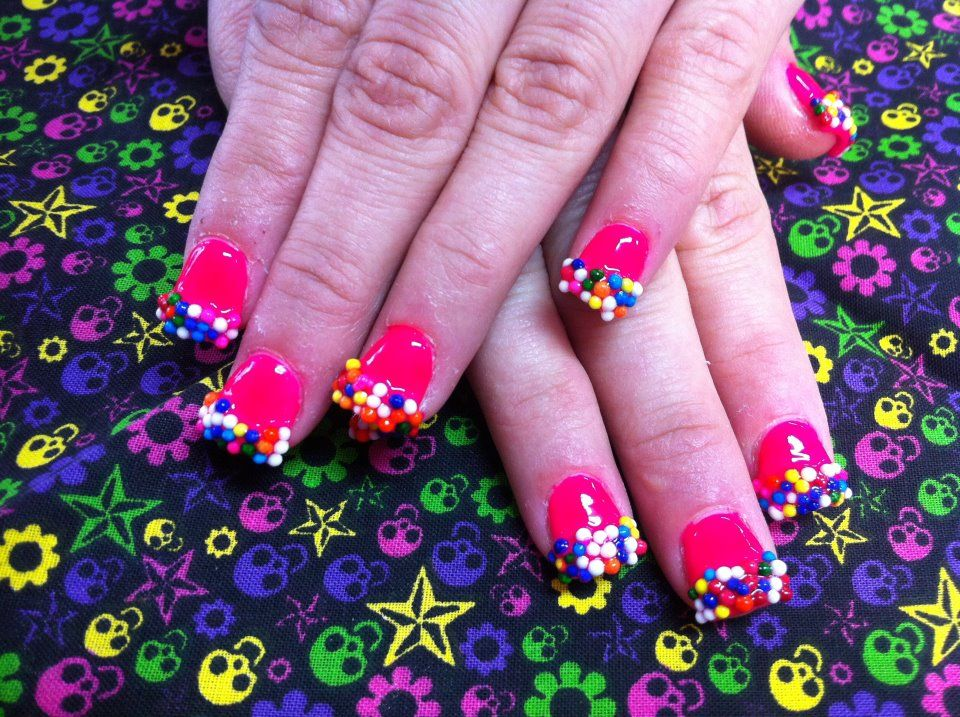 sprinkle nails