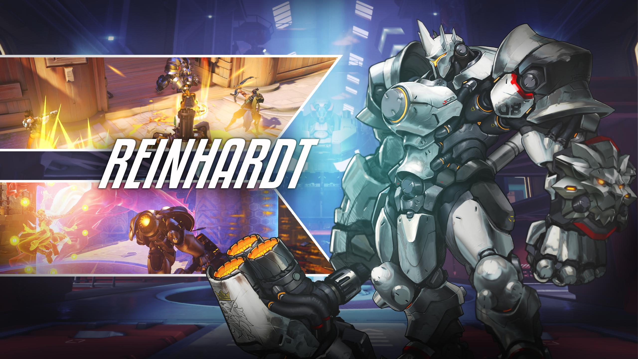 59 Reinhardt Overwatch Hd Wallpapers Backgrounds