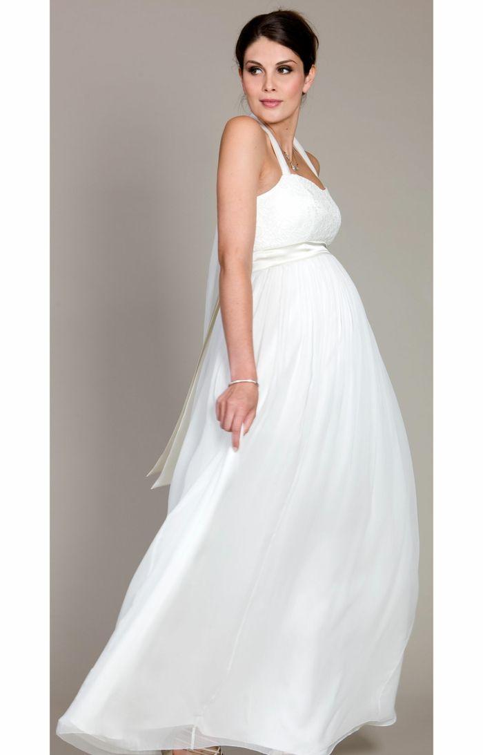 15 prächtige Brautkleider für Schwangere- so steht der Traumhochzeit ...