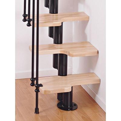 Best Arke Karina Black Modular Staircase Kit K33023 With 400 x 300