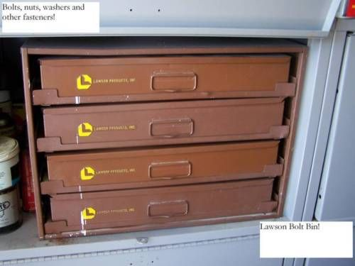 Lawson Bolt Bin This Set Has 4 Slide Out Drawers With