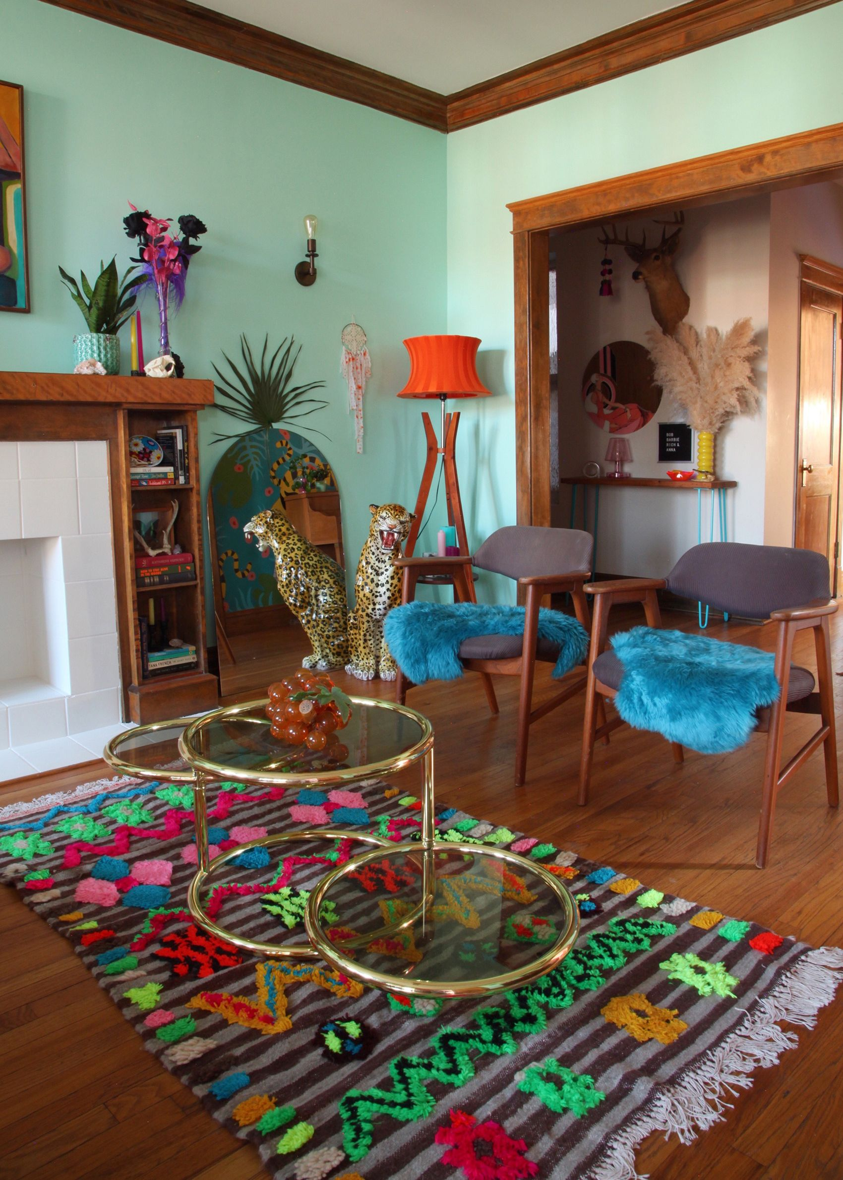 Photo of A Celebration of Punchy Colors & Delightful Kitsch in Chicago, IL