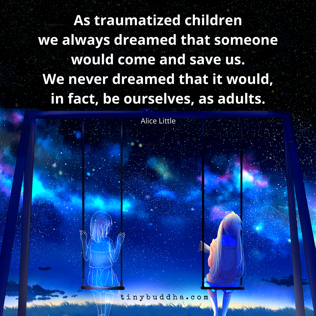 We Always Dreamed That Someone Would Come Save Us | Inner child ...