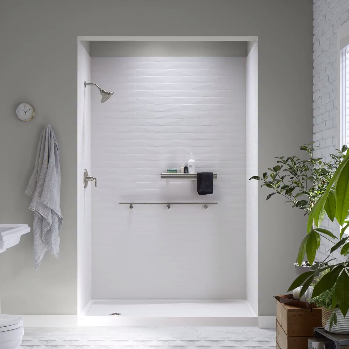Kohler Luxstone Shower Replacements By Home Smart Industries Pennsylvania Nj De Md Video Bathroom Shower Systems Kohler Shower Kohler
