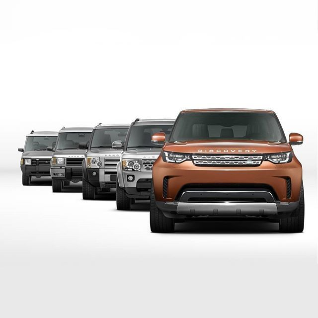 The All-New #Discovery builds on the vehicles that went before it to bring you the most versatile and capable #LandRover Discovery.