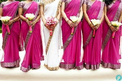 Bridesmaid Sari