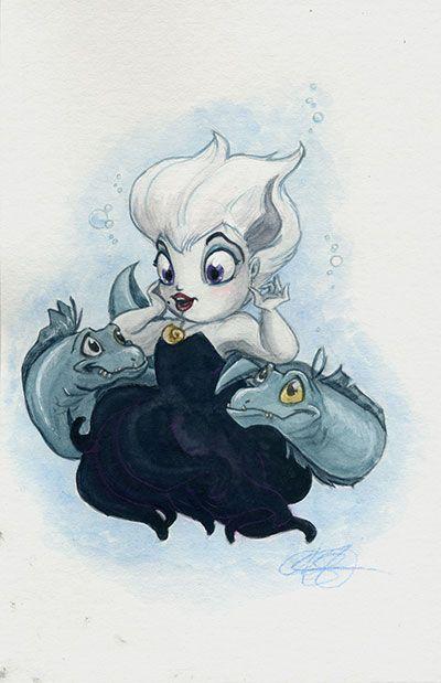 "Ursula by AmberStoneArt.deviantart.com on @DeviantArt - From ""The Little Mermaid"""