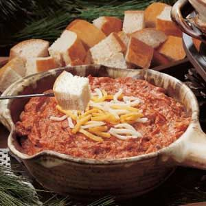 Pizza Fondue Recipe | Taste of Home Recipes
