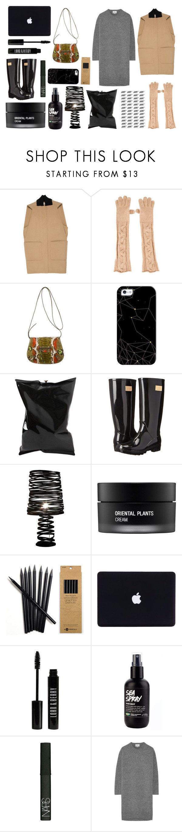 """Fall Style With The RealReal: Contest Entry"" by modernandsmash ❤ liked on Polyvore featuring Balenciaga, Loro Piana, Casetify, Anya Hindmarch, Nicole Miller, Koh Gen Do, Lord & Berry, NARS Cosmetics and Acne Studios"