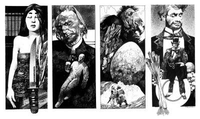 Sergio Toppi - he's so good it makes you want to cry (in frustration)