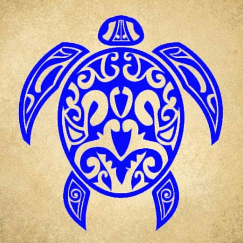 Hawaiian Sea Turtle Fancy Decorative Shell Custom Vinyl Decal - Custom vinyl decals hawaii