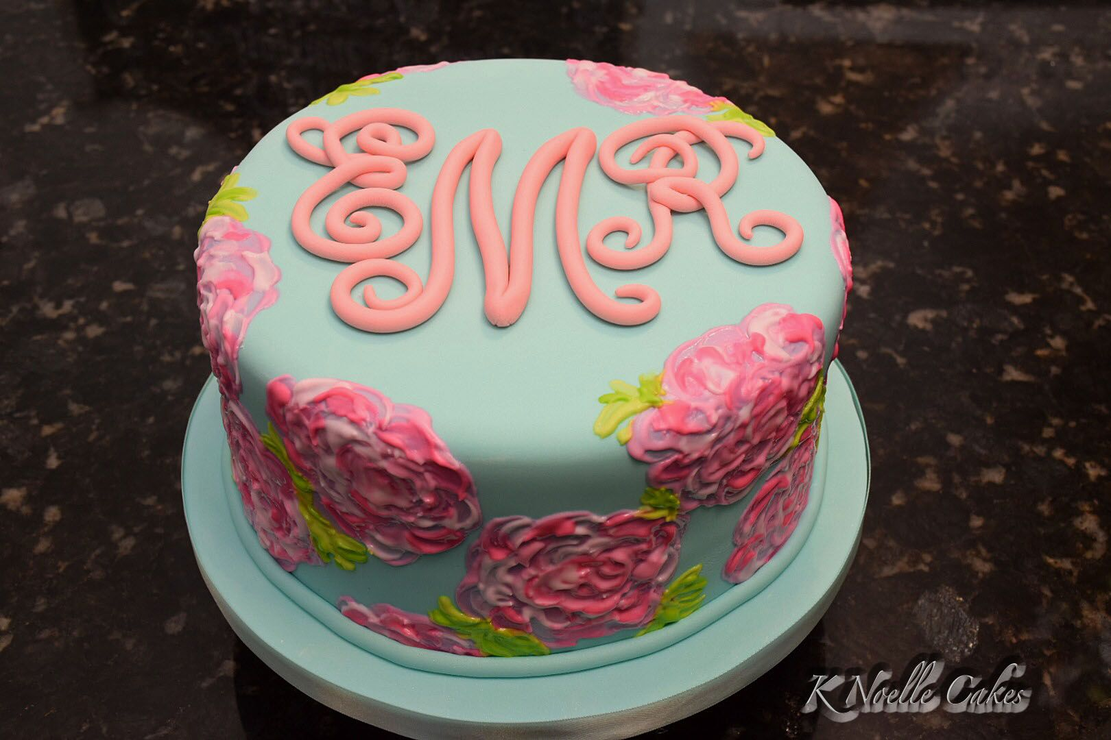 Birthday Cake With Name Jimmy ~ A lilly pulitzer inspired floral birthday cake cake