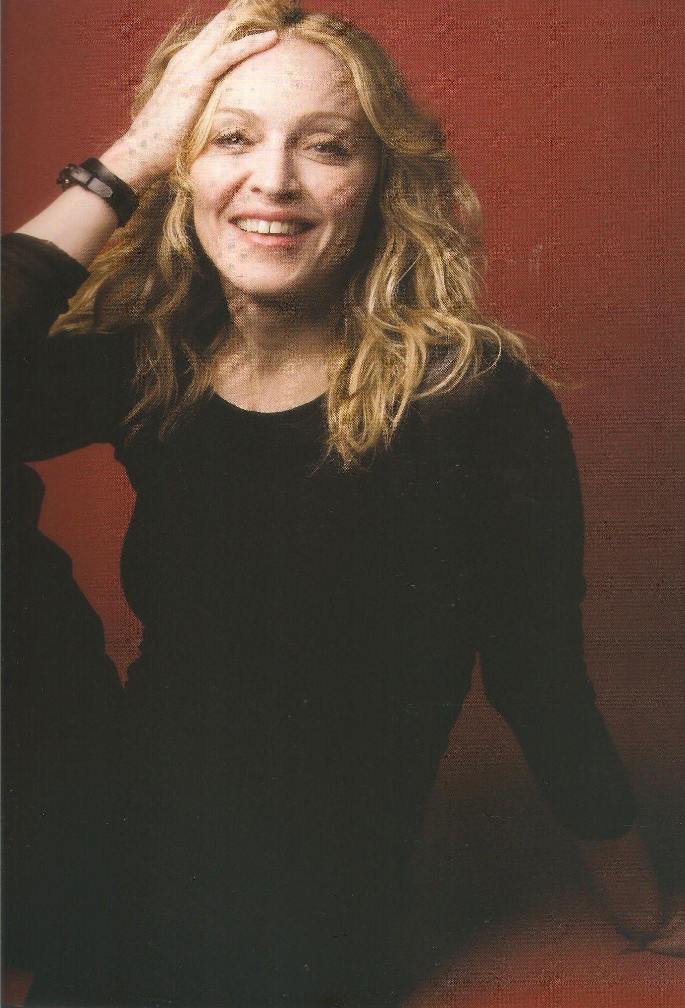 Madonna by Annie Liebovitz in 2007 for Vanity Fair