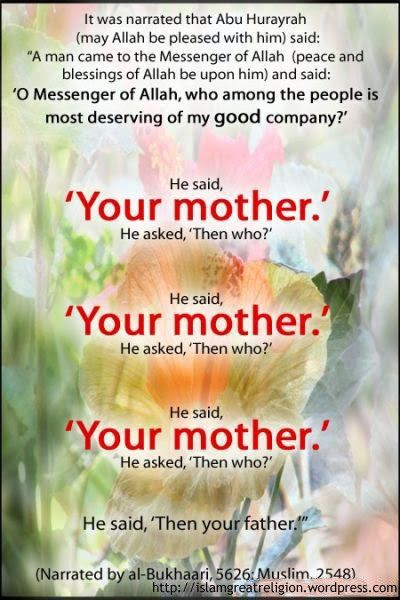 role of mother in islam pdf