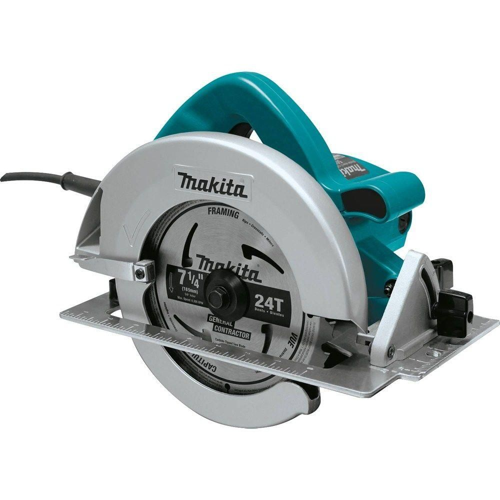 Makita 7 1 4 In 15 Amp Corded Circular Saw With Dust Port