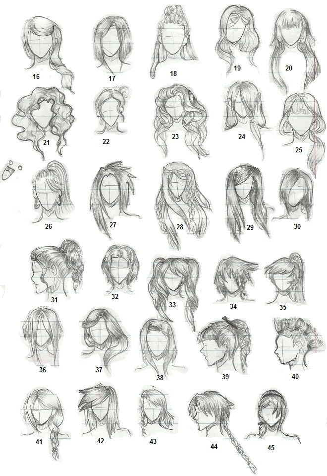 anime girl hair style hairstyles 2 by tapspring 352 on deviantart wedding 3128 | 0c11ff12a1f301e27406210e94b4f153