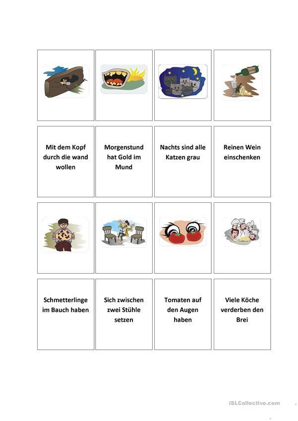 Redewendungen 5 | Kindergarten