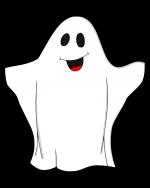Dessins sur le th me d 39 halloween le fant me anglais - Fabriquer un fantome halloween ...