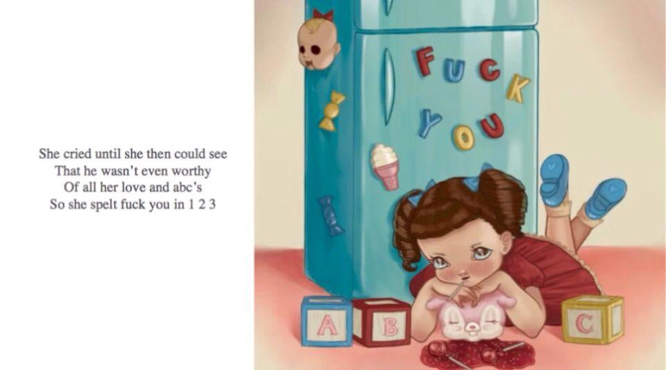 Crybaby S Story Alphabet Boy Cry Baby Storybook Cry Baby Melanie Martinez