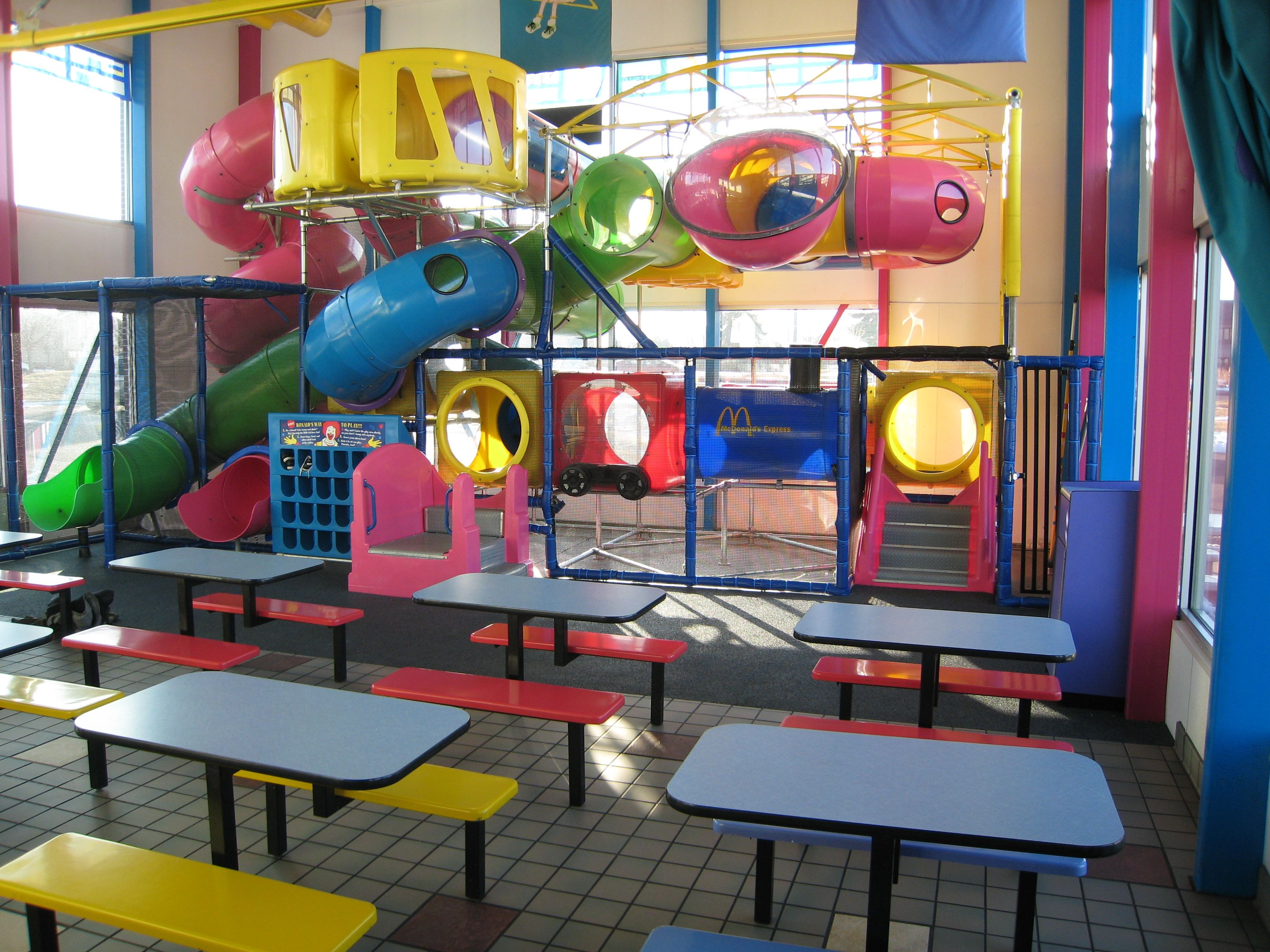 McDonald's Playplace. Instant party. #90s #00s #memories #childhood #fun #food