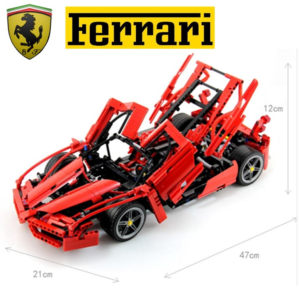 59.98$  Buy here - http://alil6s.worldwells.pw/go.php?t=32701342578 - BELA 1359pcs Enzo 1:10 Model Racing Car Vehicle DIY 3D Construction Assemble Model Building Blocks Kids Educational Toys Gifts 59.98$
