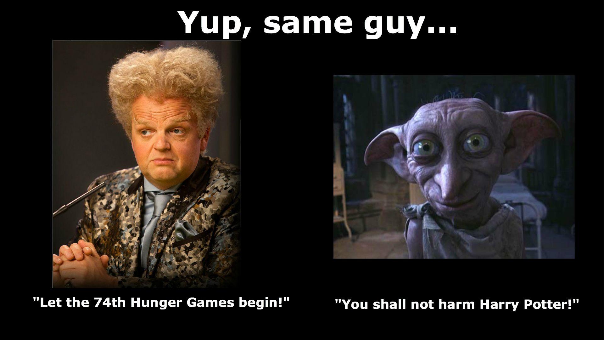 Toby Jones Hunger Games Make Me Smile Mockingjay