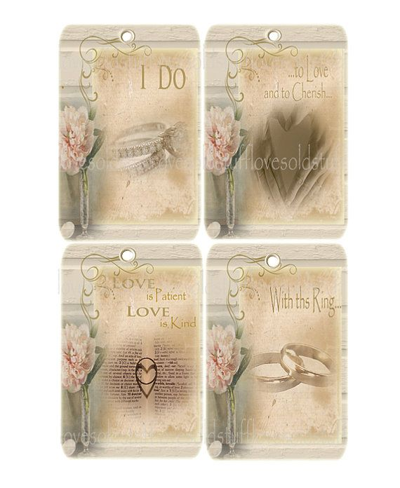 Gift Tags Wedding Printable Digital