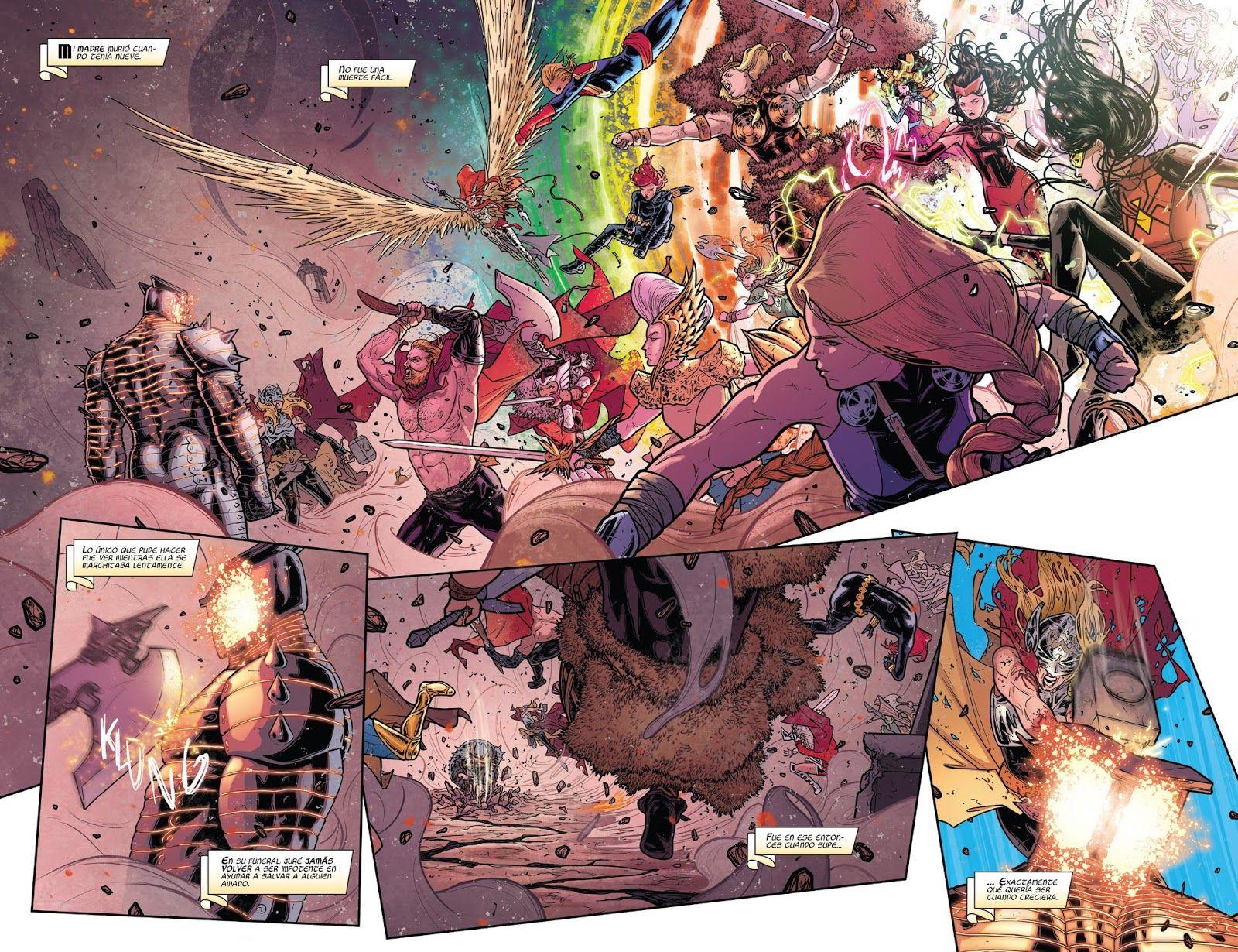 Galicia Comic: Thor 8 - La mujer detras de la mascara