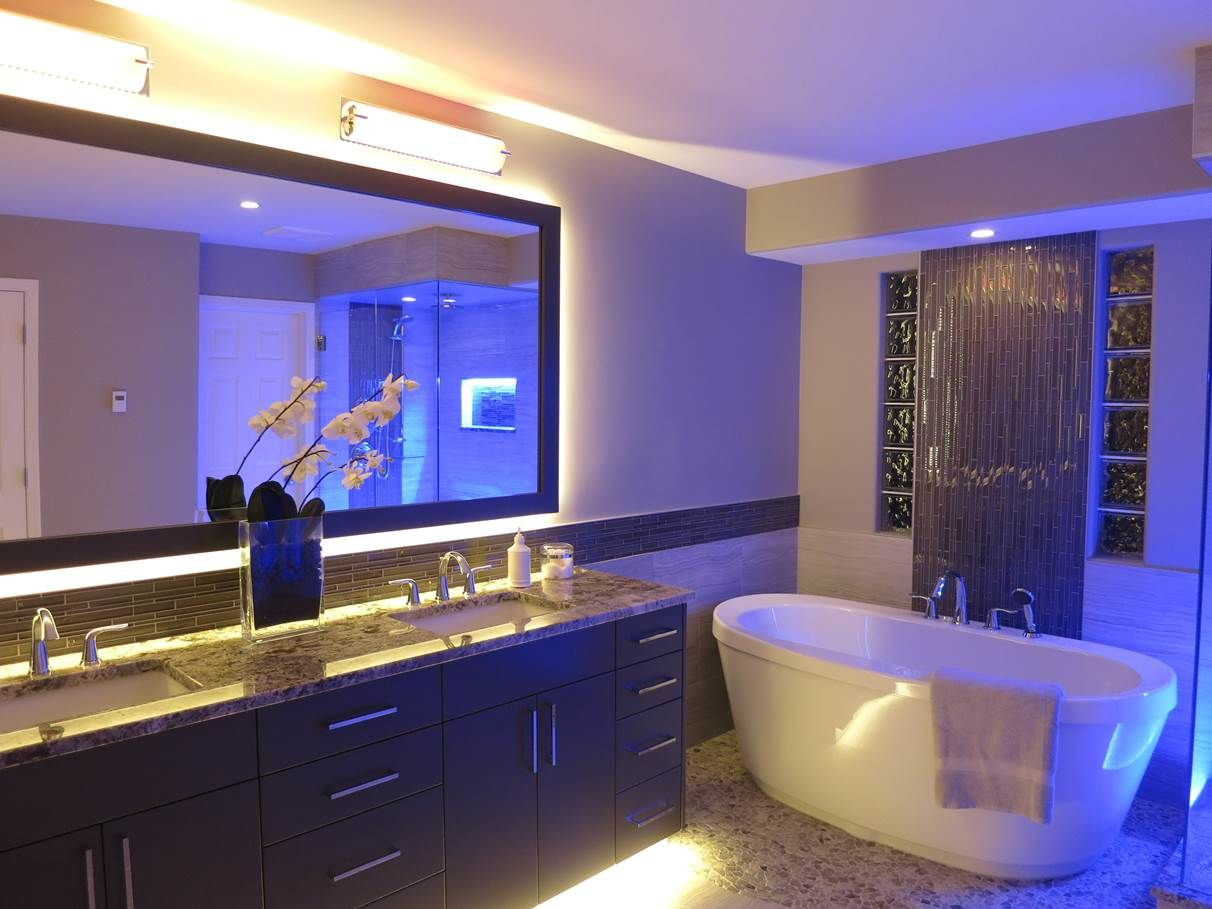 The ideas of LED ceiling lighting for bathroom | Furniture ...