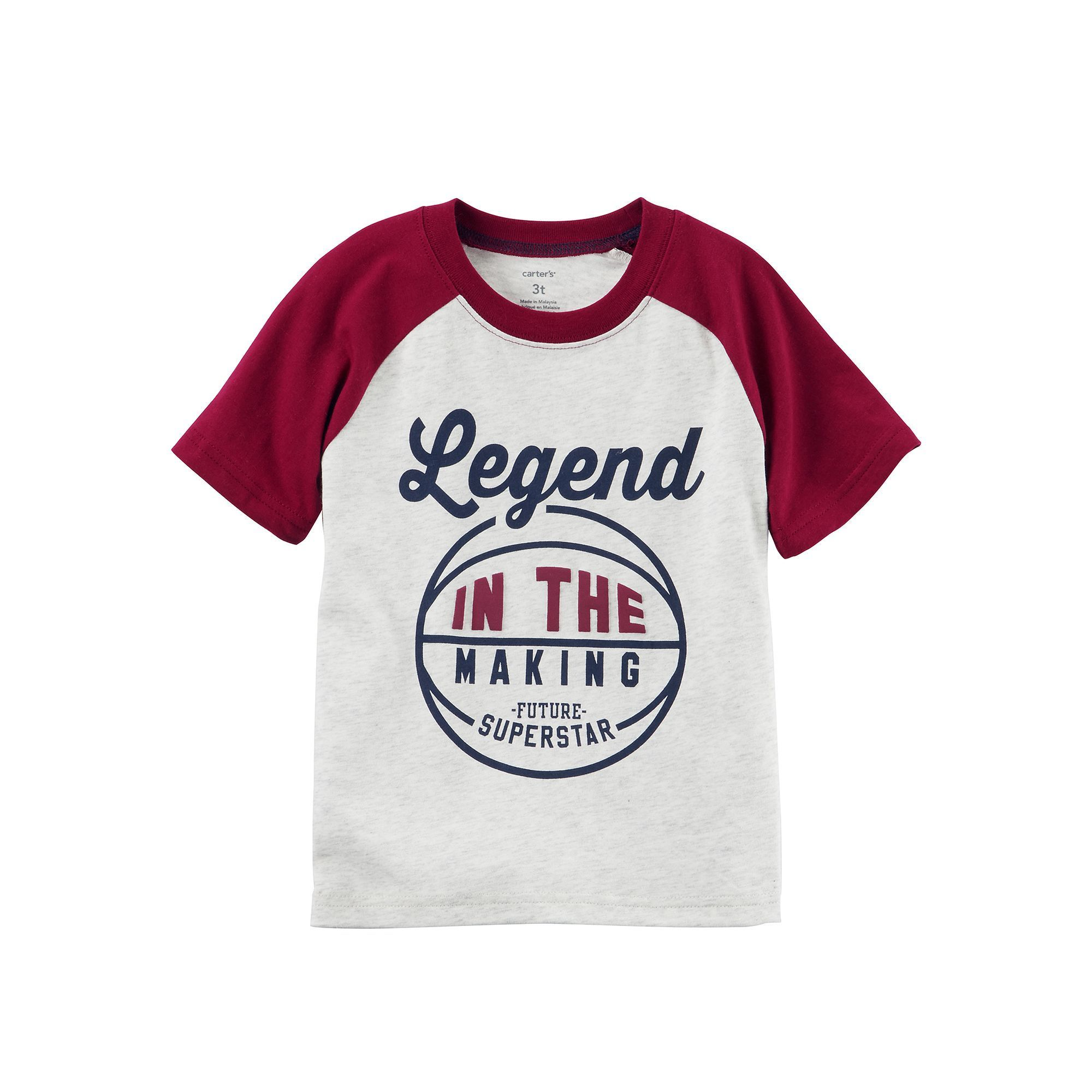 Carter\'s Boys 4-7x Legend in the Making Basketball Short-Sleeve Tee ...