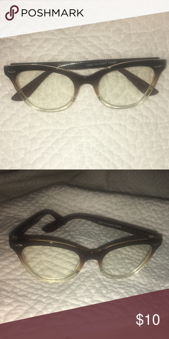 8c521bbf8db1 I just added this listing on Poshmark  Clear Lens Cat Eye Glasses.   shopmycloset  poshmark  fashion  shopping  style  forsale  Accessories