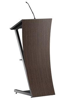Podium lectern presentation desk zenSaytion wood