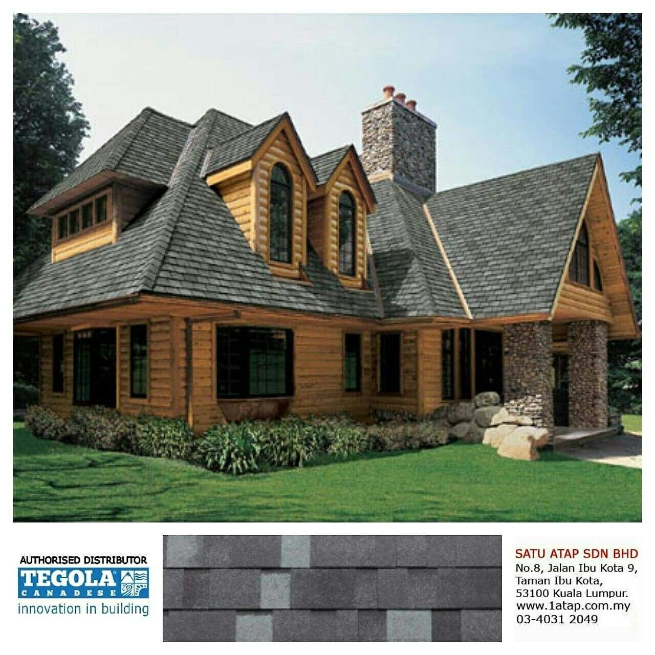 Tegola Master J Everything On A Single Roof These Are The Characteristics Of Any Tegola Canadese Roof Quality Ada Roofing House Exterior Cedar Shingle Siding